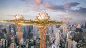 futurism inspirations of cities - Bing images