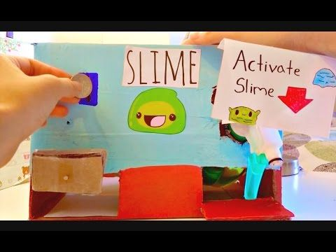 Homemade Slime Vending Machine Requires Youtube Unorganized