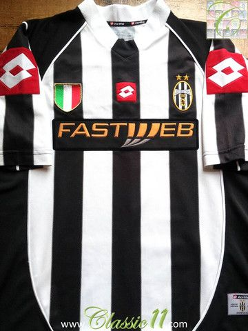 18e8a000c Relive Juventus  2002 2003 season with this vintage Lotto home football  shirt.