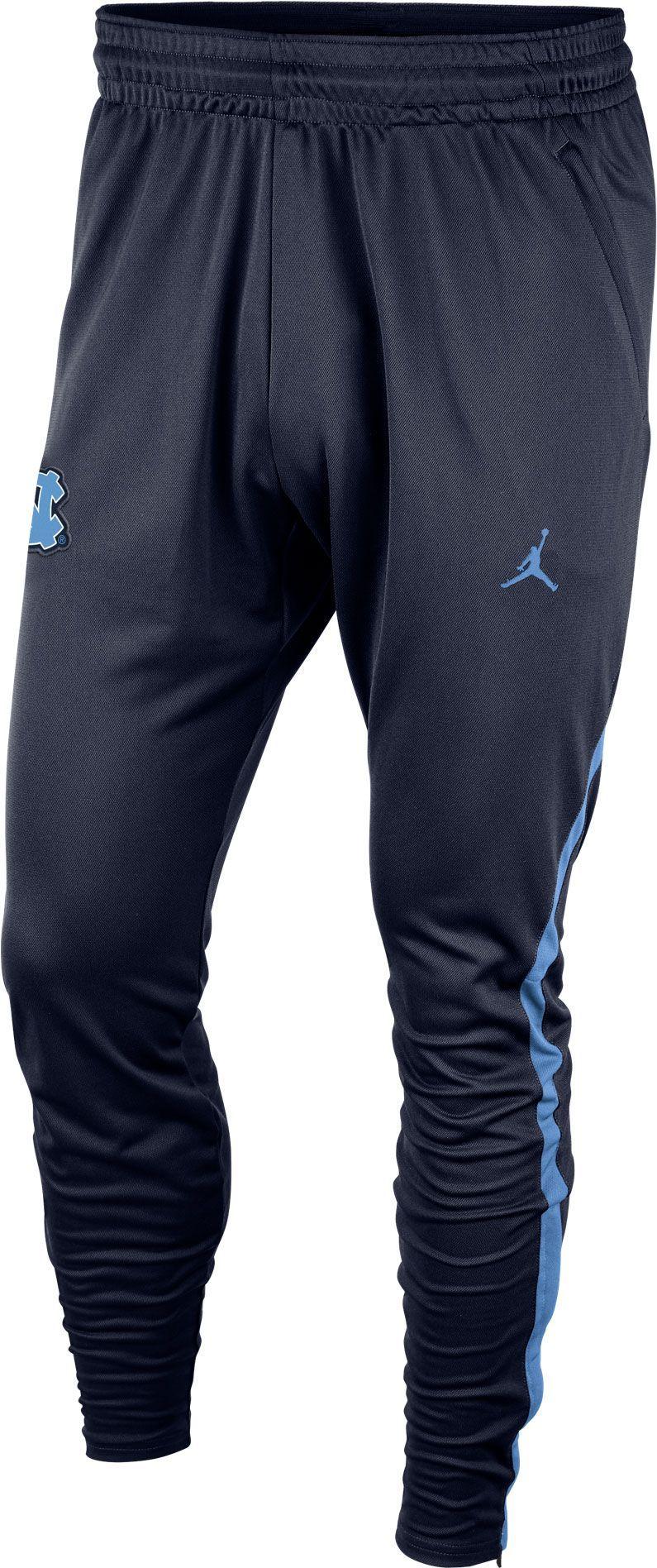 a0bf5c11faaa19 Jordan Men s North Carolina Tar Heels Navy Dri-FIT Alpha Practice Pants