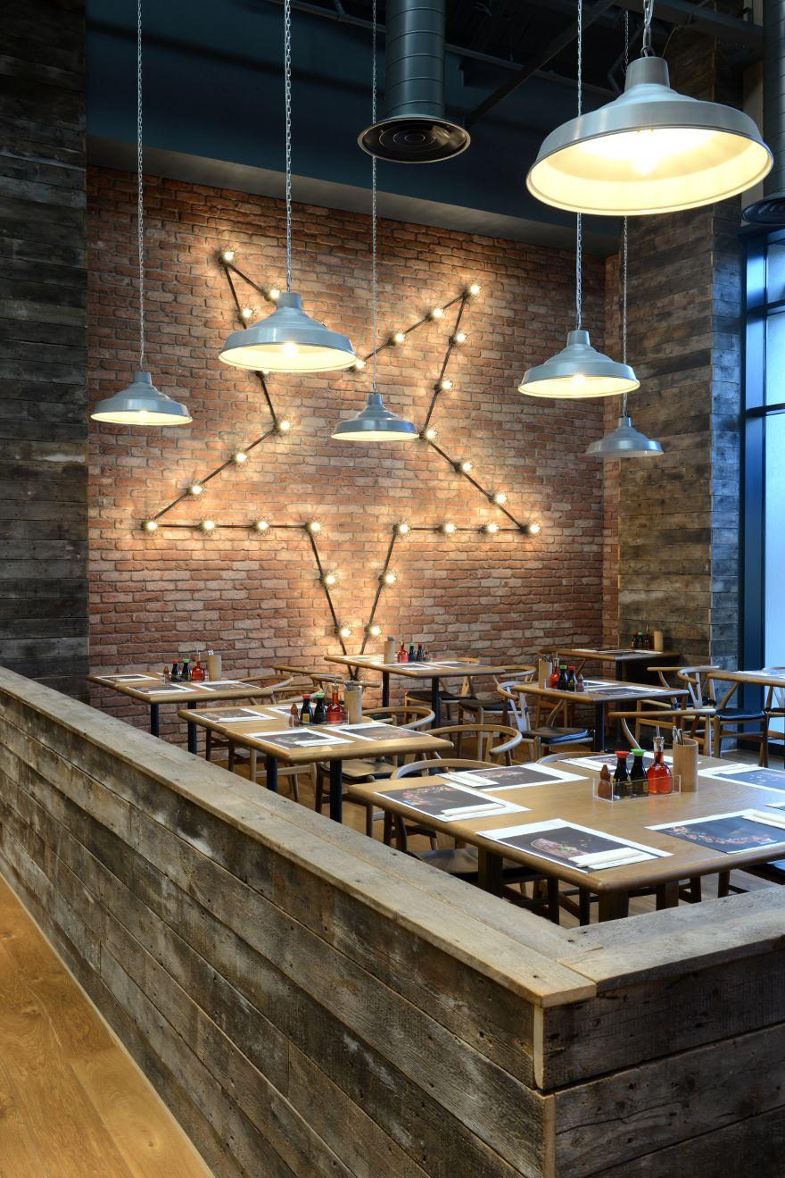 wagamama swindon focus design restaurant bar design - Light Hardwood Restaurant Decoration