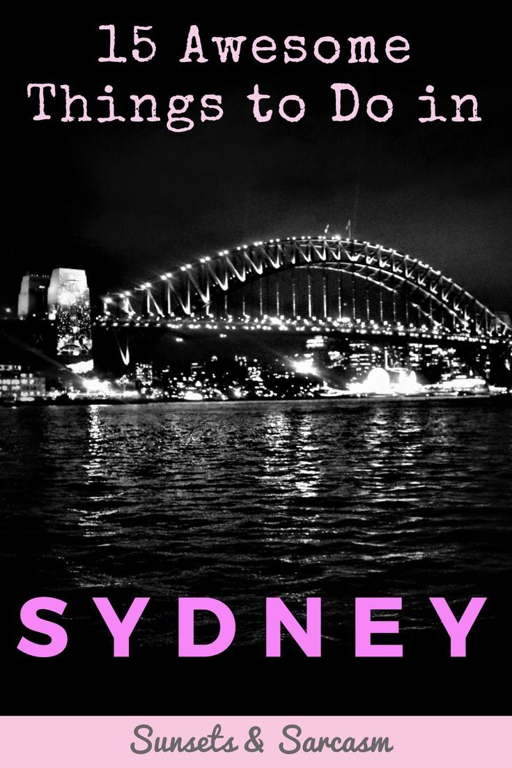 The best things to do in Sydney Australia - discover Sydney highlights including Sydney Opera House, Sydney Harbour Bridge, Bondi Beach, the Blue Mountains, Sydney markets & much more.