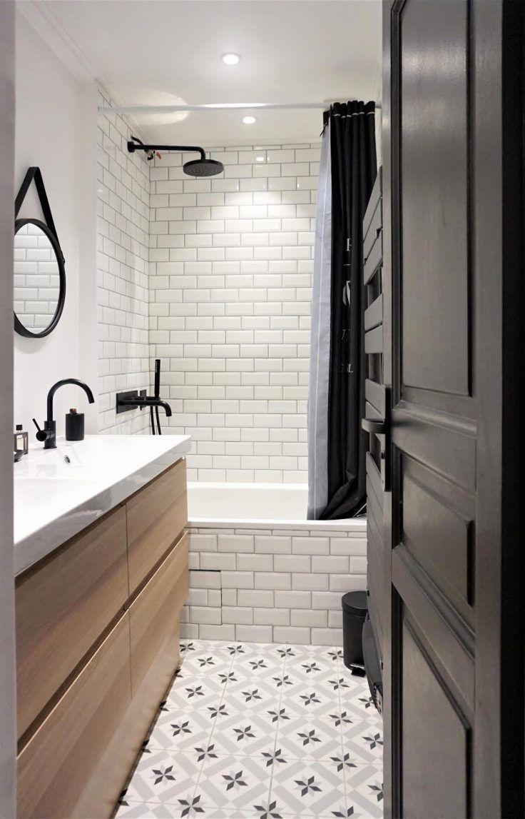 Photo of Salle de bains sans fenêtre : 20 idées pour bien l'aménager #salledebain