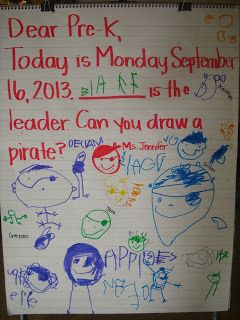 Pirate Morning Message | Pre-K Pirates | Morning message