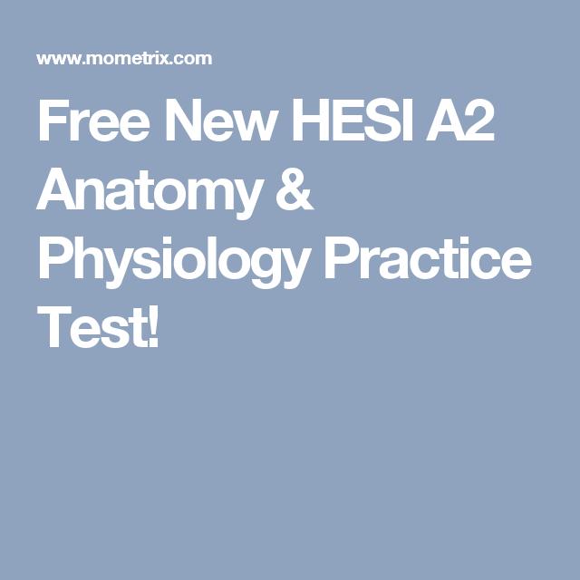 Atractivo Anatomía A2 Hesi Y Fisiología Become Friso - Anatomía de ...