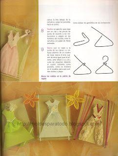 b443dbce1 Moldes para Todo    Invitaciones con vestidos XV Años