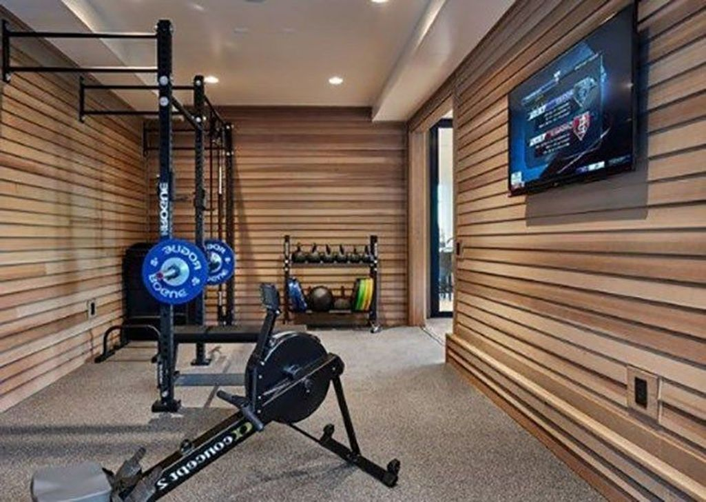 Awesome 20 outstanding home gym room design ideas for