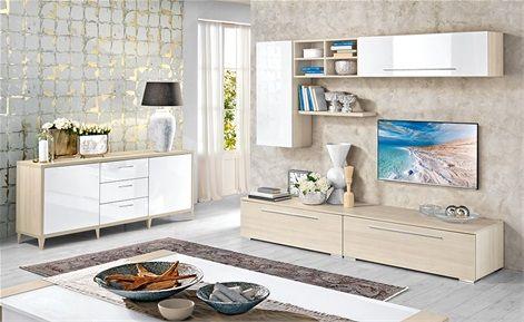 soggiorno giulia - mondo convenienza | interior design | pinterest ... - Mobili Buffet Mondo Convenienza