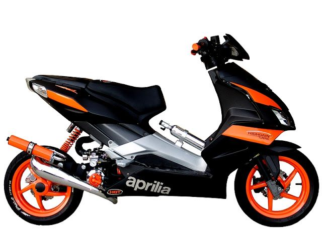 Aprilia SR50 Turbo | SR50 Turbo | Turbo Scooter | Motorcycle