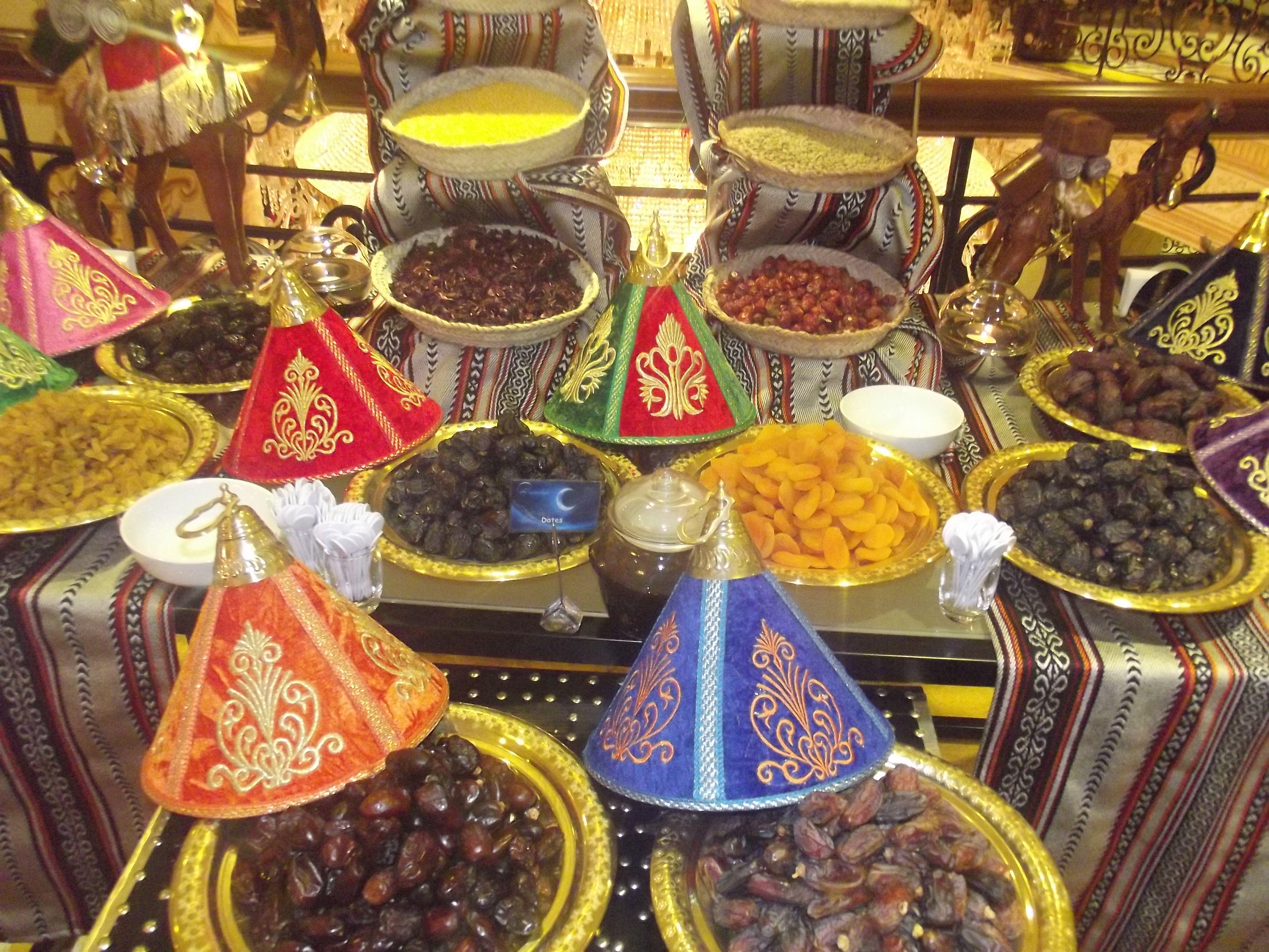 Ramadan decoration at printania restaurant