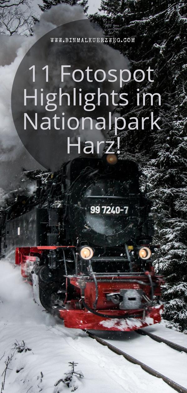 Harz Fotospots Meine Highlights Binmalkuerzweg Harz Urlaub Nationalpark Harz Fotos