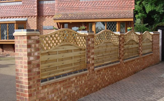 Walls Amp Fences J Amp M Berkshire Driveways Fence Panels