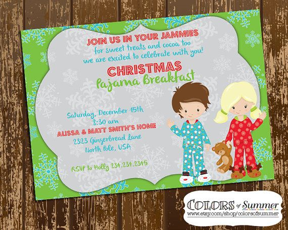 kids pajama party flyer ecza productoseb co