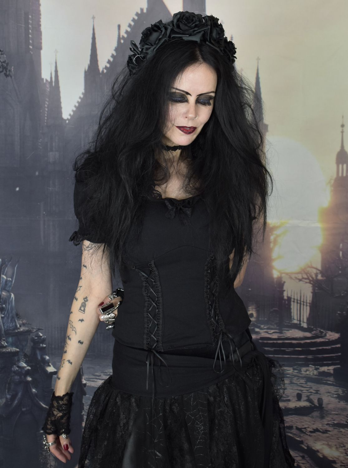 Pin by tabitha on gothic beauty in pinterest goth gothic