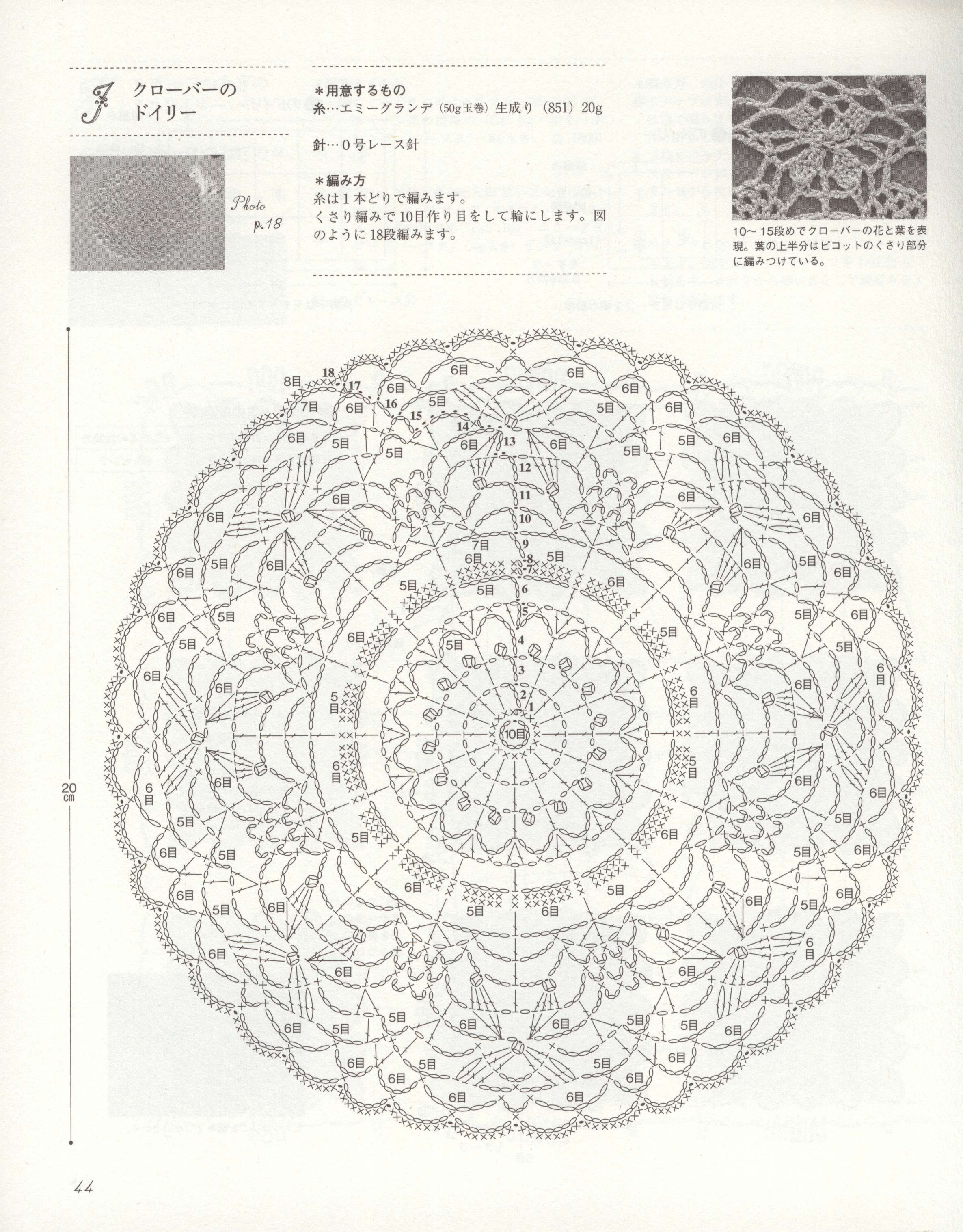 Crochet Motif Can Be Used For A Mandala Pattern