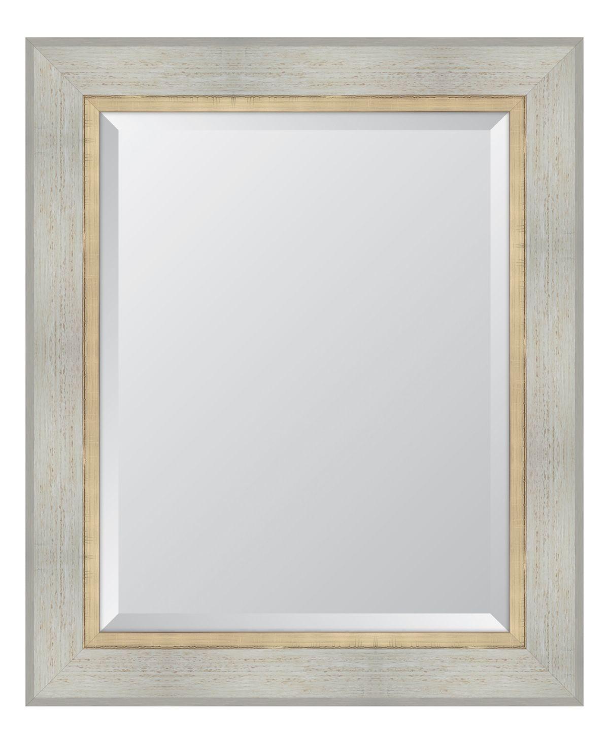 White Catalina Framed Mirror 30 X 36 X 2 Multi In 2020 Mirror Frames Mirror Frame