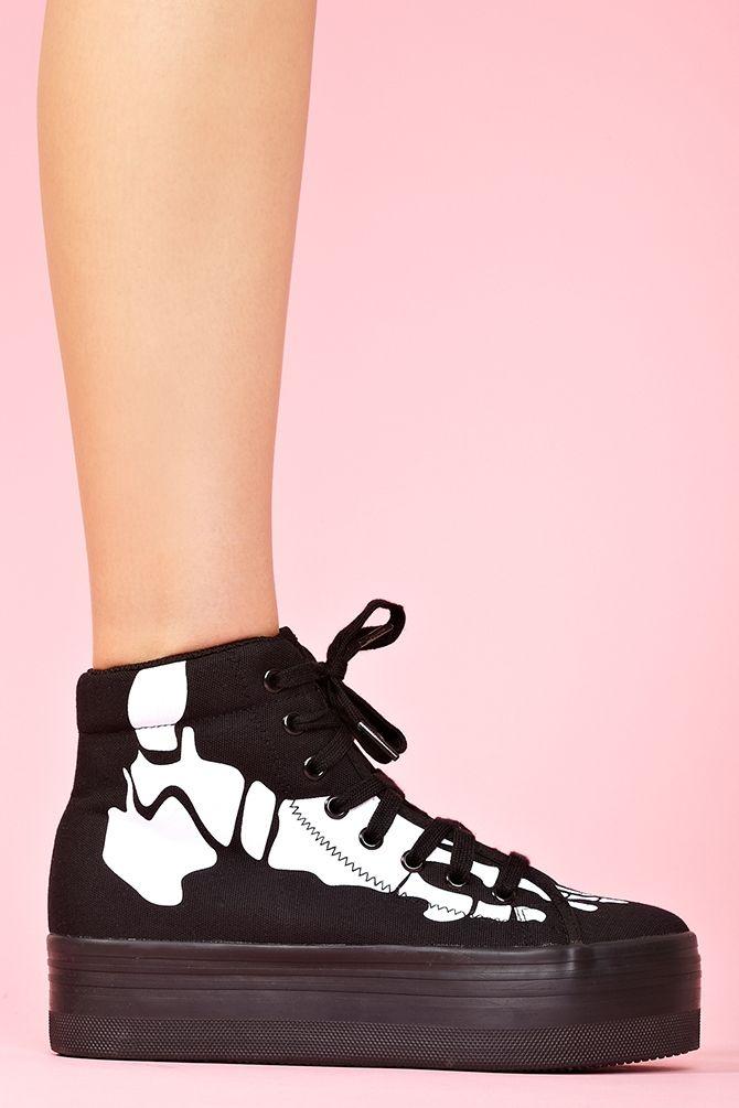 bf50b4560993 Homg Platform Sneaker in Skeleton