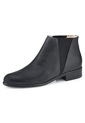 HessNatur Damen Chelsea Boots aus Leder   Schuhe damen
