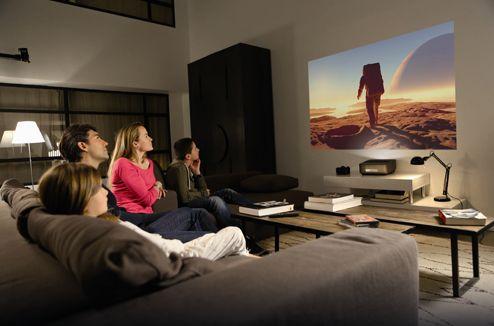 bien choisir son videoprojecteur pour la maison nos guides d 39 achat salon maison et petit salon. Black Bedroom Furniture Sets. Home Design Ideas