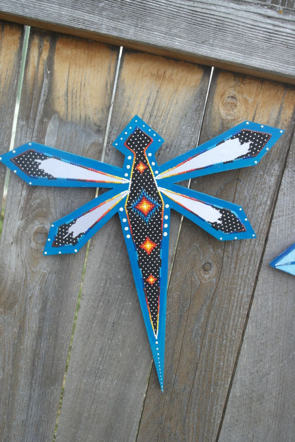 dragonfly wall decor by rezhoofz on etsy with images on wall decorations id=82864