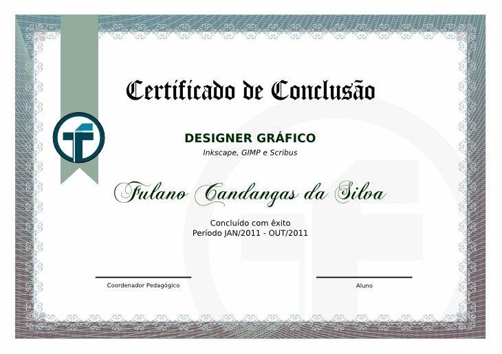 Extremamente Modelos De Certificados | Lugares para visitar | Pinterest  WY28