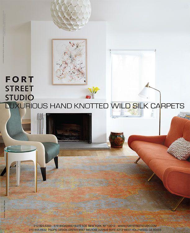 Print Ads Eclectic Interior Interior Design Magazine Rug Design