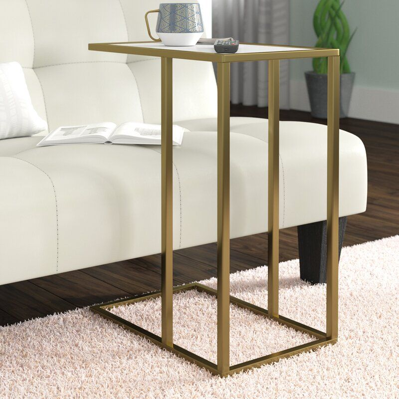 Jorgensen Asymmetrical Modern End Table With Images Modern End