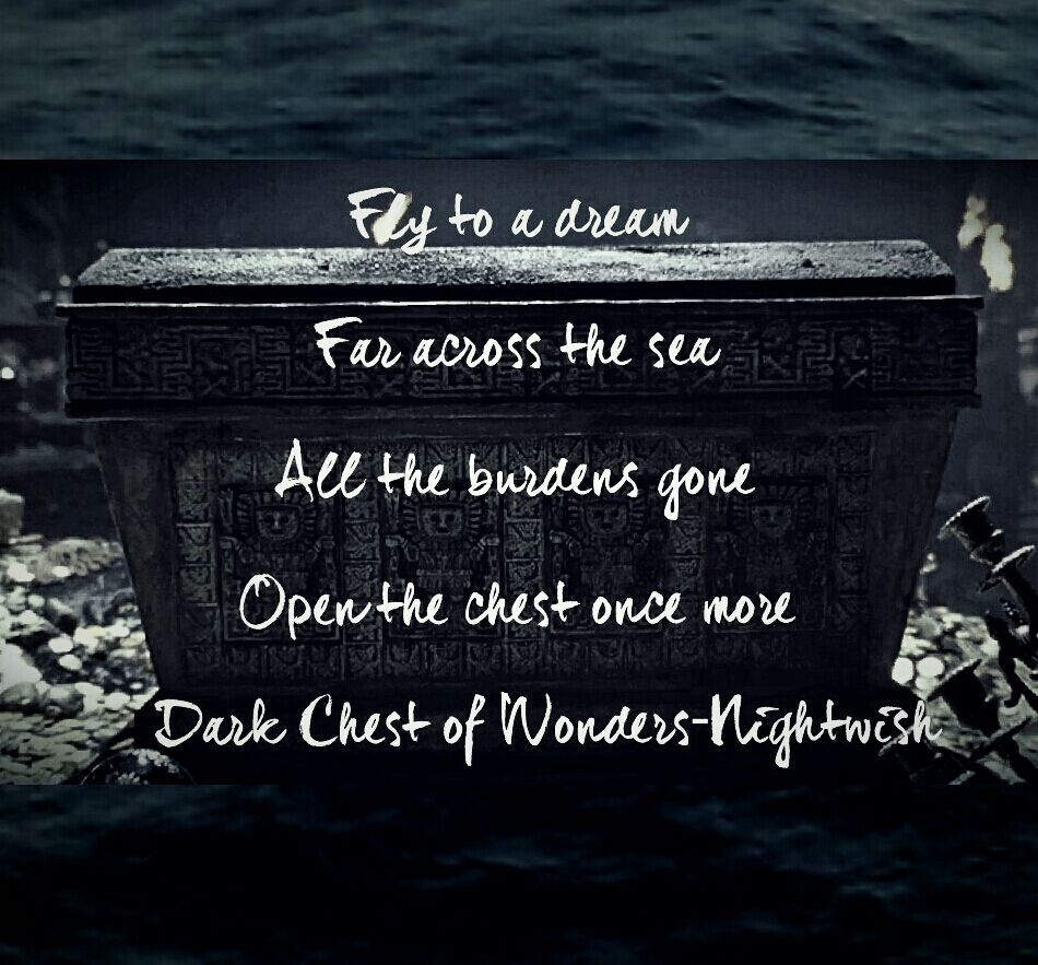Dark Chest Of Wonders Lyrics Artist Nightwish Album Once I Love The Imagery This Symphonic Metal Band Is Able To Conjure With Its Multilayer Harmonies And Rich
