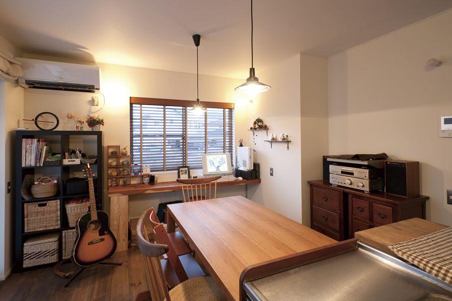 北欧アンティーク風の家 住宅 模様替え ハウス