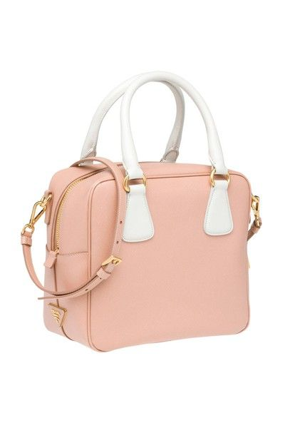 Baby Pink And White Leather Prada Bag Adorable Oh So Pretty