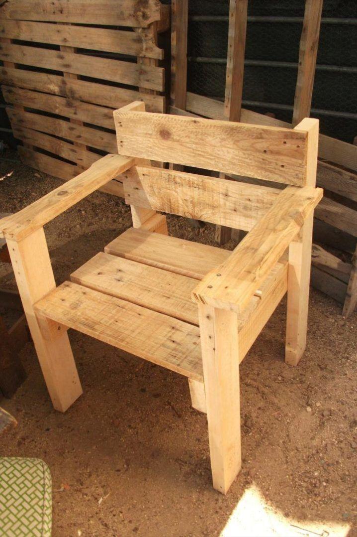 Pin de elizabeth en proyectos a intentar sillas de for Sillones de madera reciclada