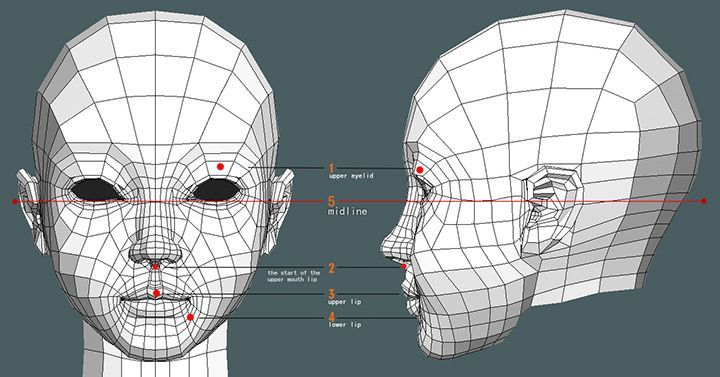 animation friendly topology low poly - Google 검색