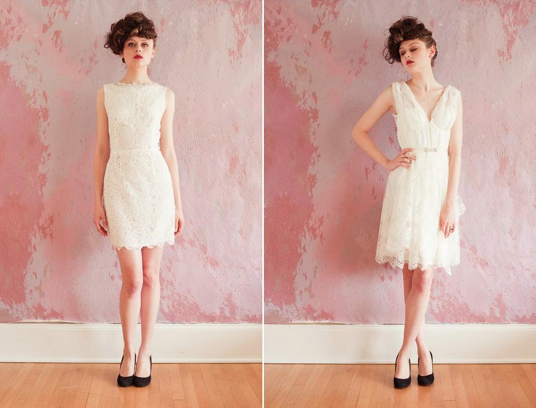 The Short Wedding Dress Trend Have Got Altered