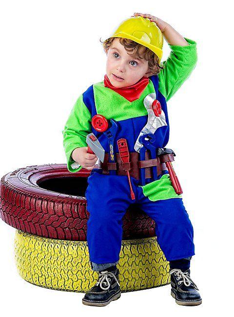 Bauarbeiter Kinderkostum In 2019 Blau Pinterest Kinder Kostum