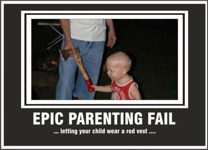 Epic parenting fails can