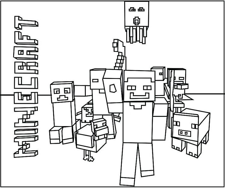 Minecraft Duck Coloring Pages Tips