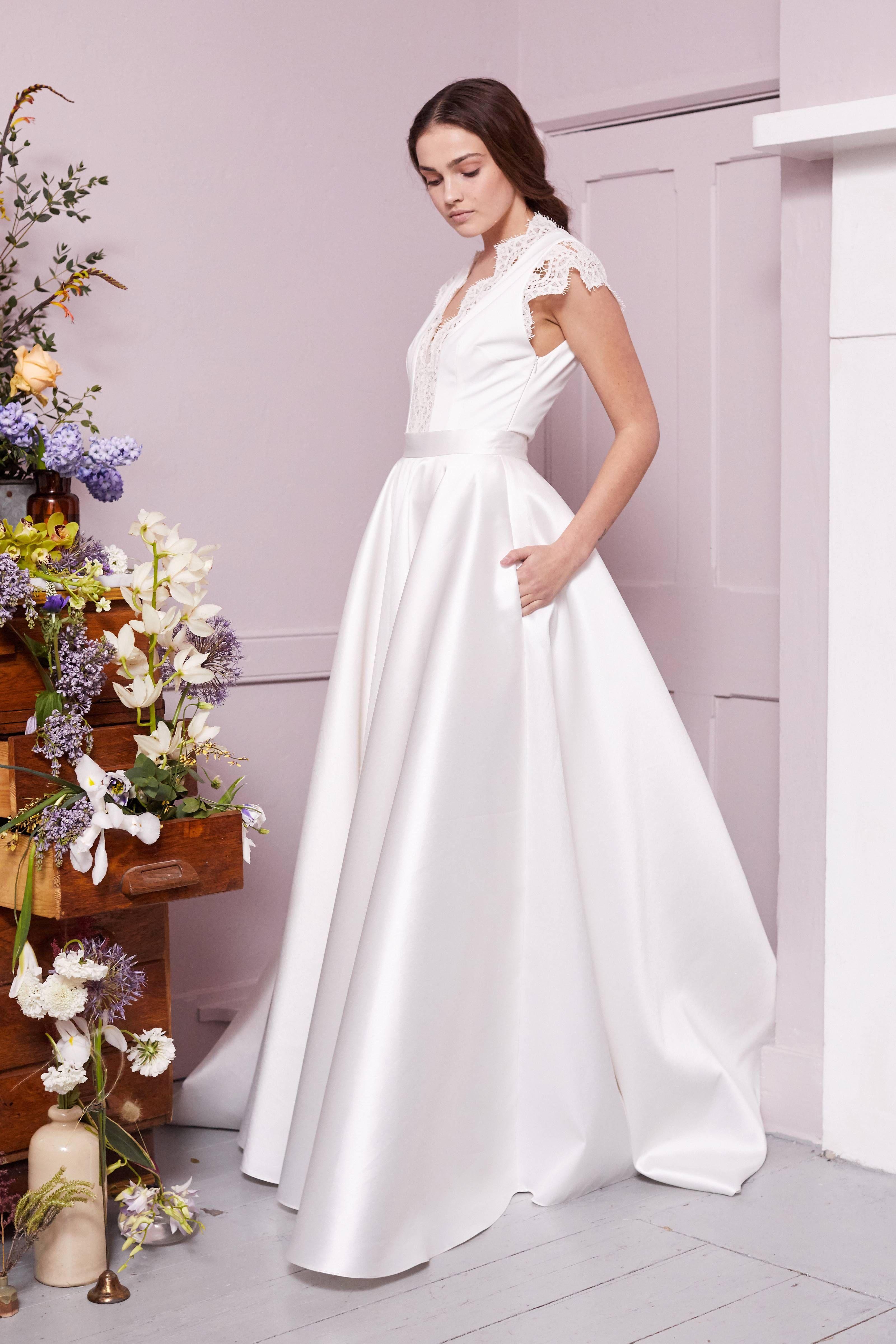 Robe de mariée Halfpenny London à Paris -
