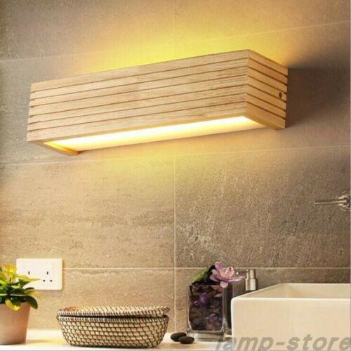 Nordic Modern Wood Wall Lights Bathroom Mirror Lamp Hallway Wandlamp Bed Light Ebay Wandlamp Huis
