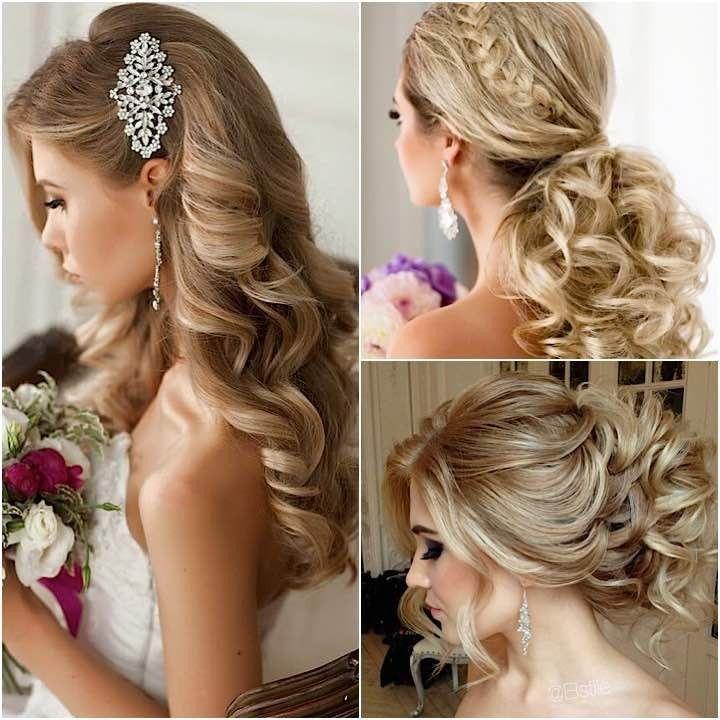 Los peinados con colas de caballo no se consideran populares para las bodas, pero un peinado pueden ...