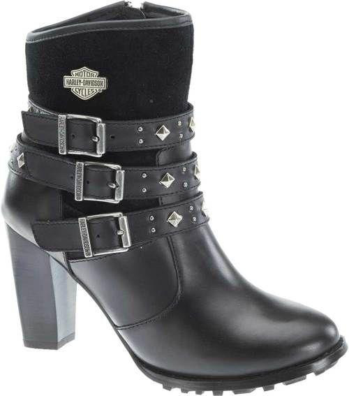 fb00660a6413 Free shipping - Harley-Davidson Women s Lifestyle Abbey 5.5-Inch Fashion Hi- Heel Boots D83865 - Womens Footwear Boots - Essentials Footwear Womens  Footwear