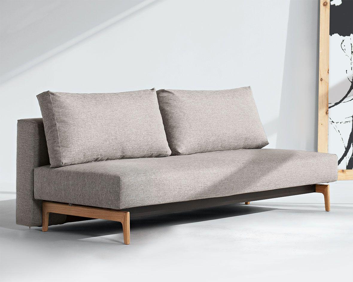 Schlichtes Design Schlafosfa Hilltown In Grau Modern Couch