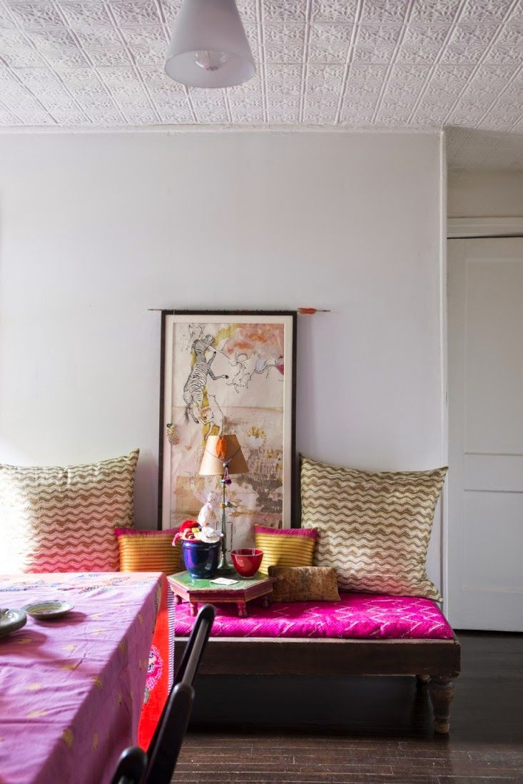 Indian style in new york bohemianeclectic home decor pinterest