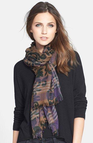 Nordstrom 'Aristocrat' Wool Blend Wrap