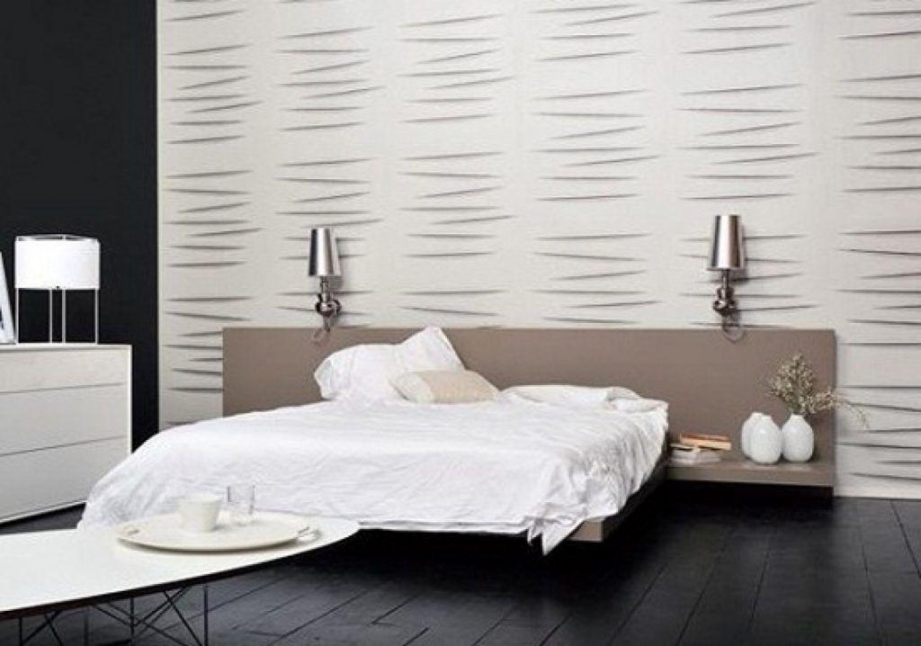 Diseños de papel tapiz moderno para dormitorios - tapices modernos