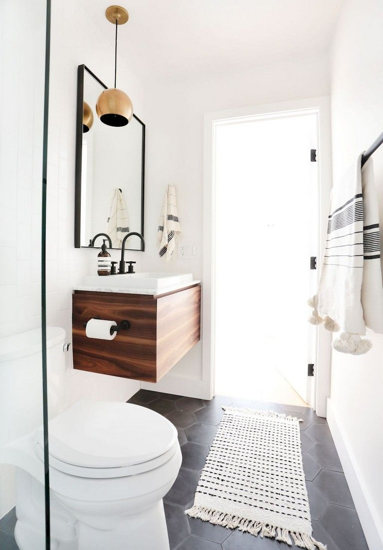 80 Luxury Small Bathroom Decorating Ideas Luxury Small Bathroom Bathroom Decor Small Bathroom Minimalist luxury small bathroom