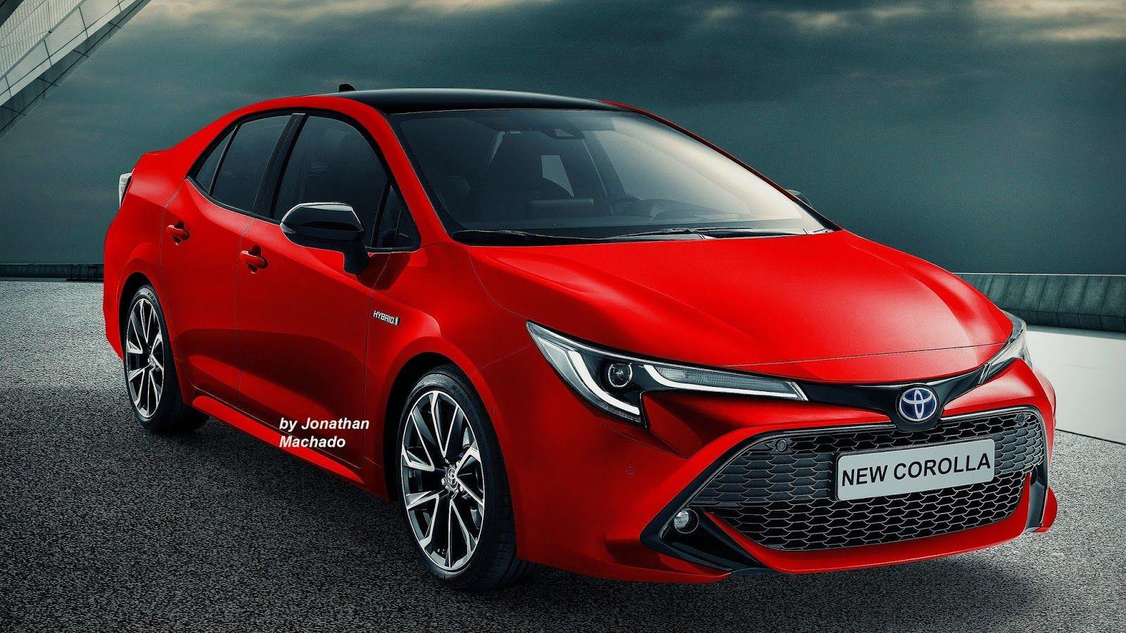 Next Gen 2019 Toyota Corolla Altis 2019 Toyota Corolla Sedan Imagined Toyota Corolla Toyota Avensis Toyota