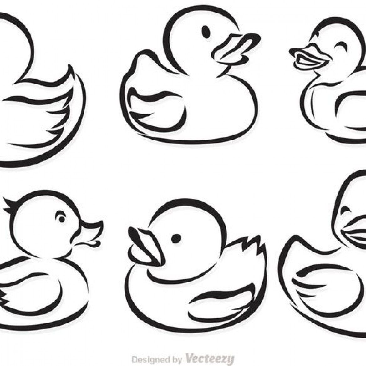 14++ Rubber ducky clipart black and white ideas in 2021
