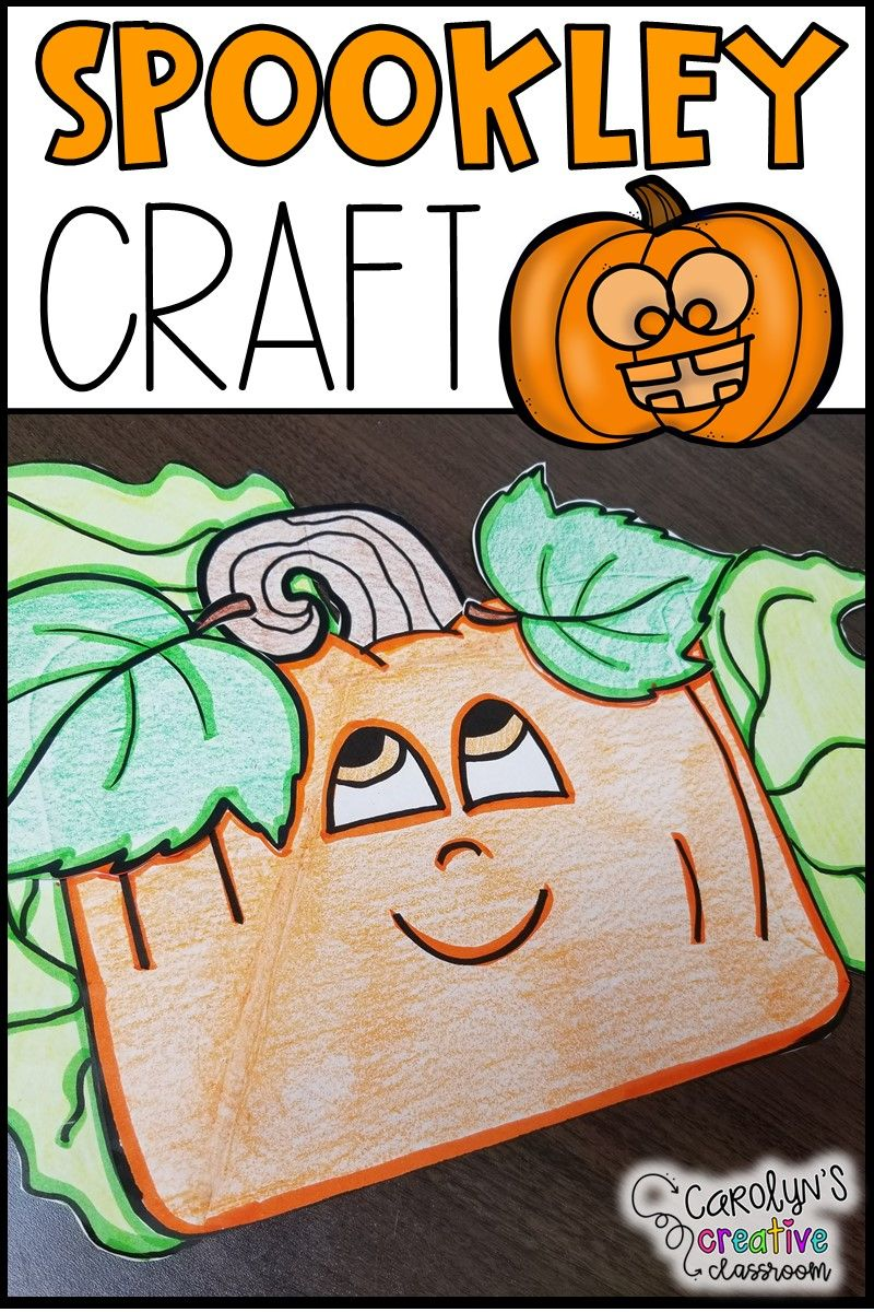 30+ Spookley the square pumpkin craft template information
