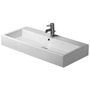 470mm Bathroom Rectangle Under Counter Basin Modern White Ceramic Sink Wash Bowl