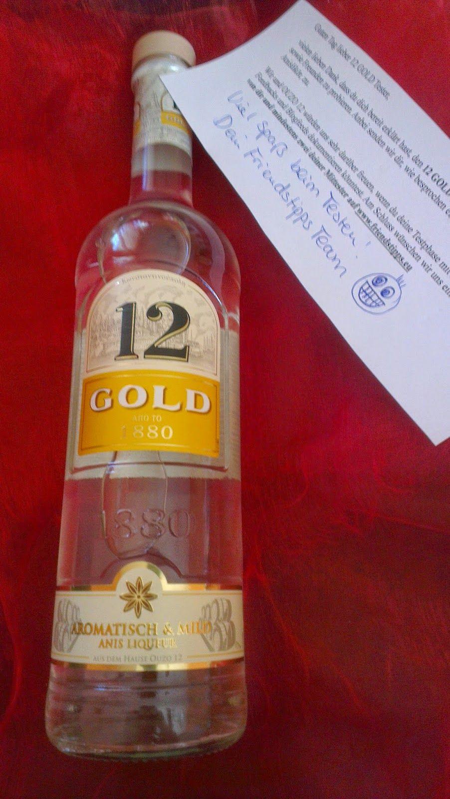 Simones Produkttest: Ouzo 12 Gold